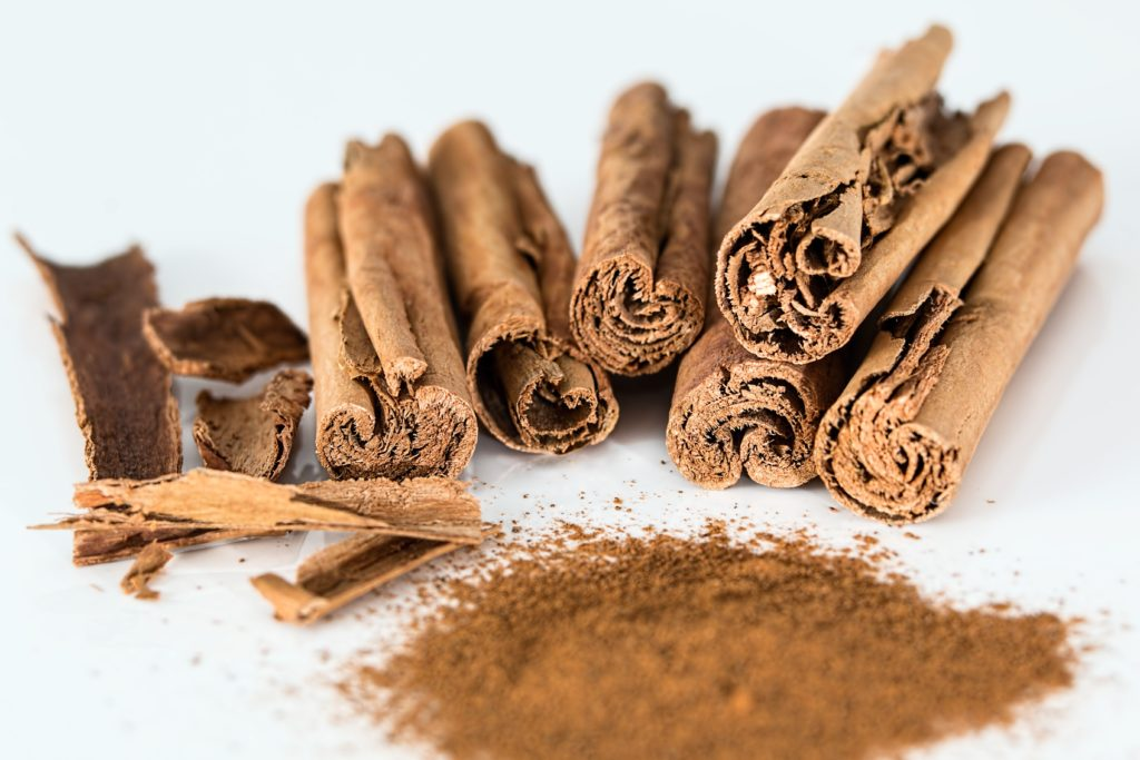 cinnamon burns fat