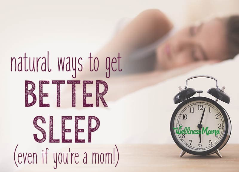 Improve Your Sleep Naturally