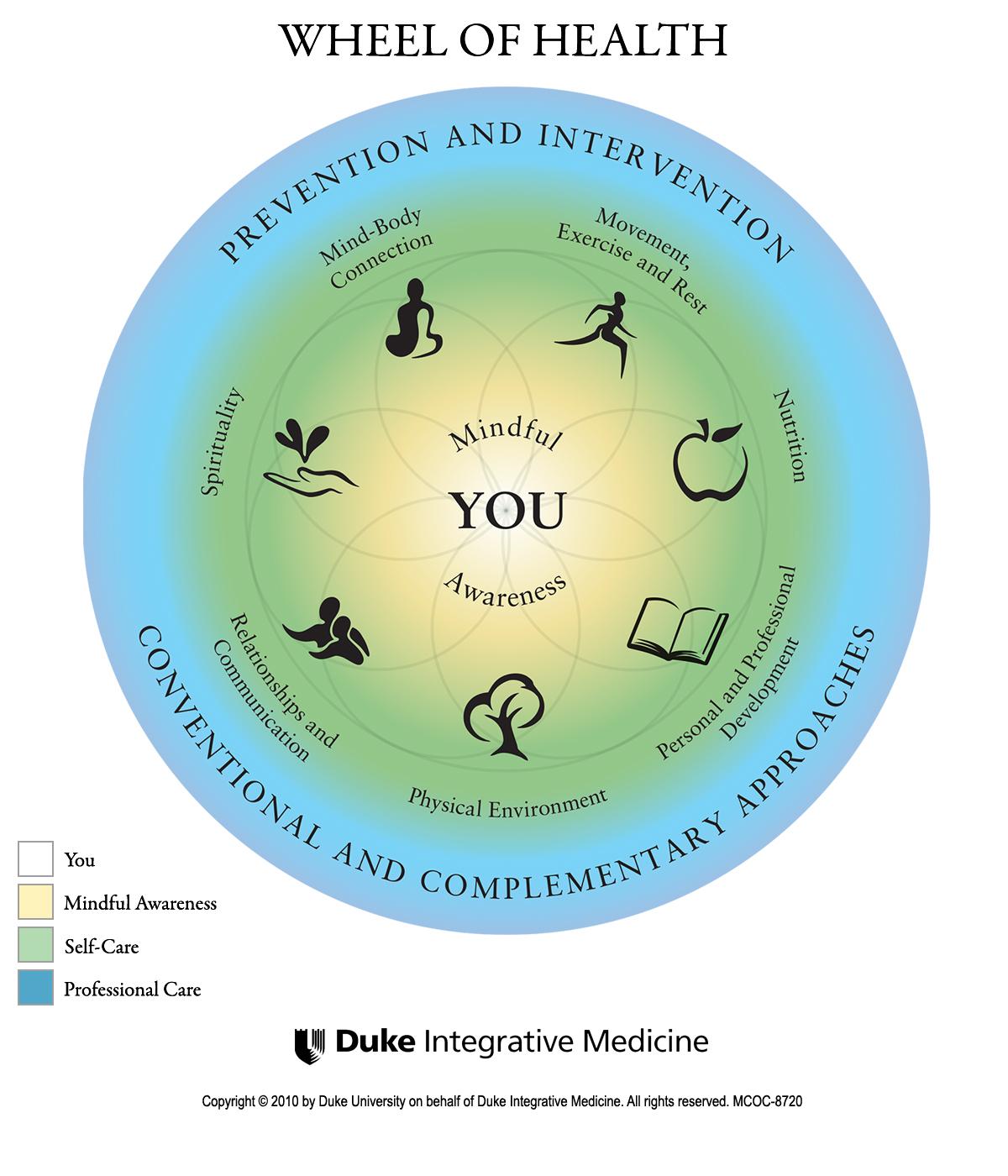 Duke Integrative Medicine Wheel of Health