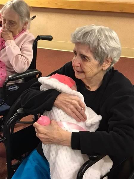 Baby Dolls Help Alzheimer's Patients