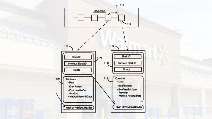 Walmart Files Blockchain EHR Data Patent