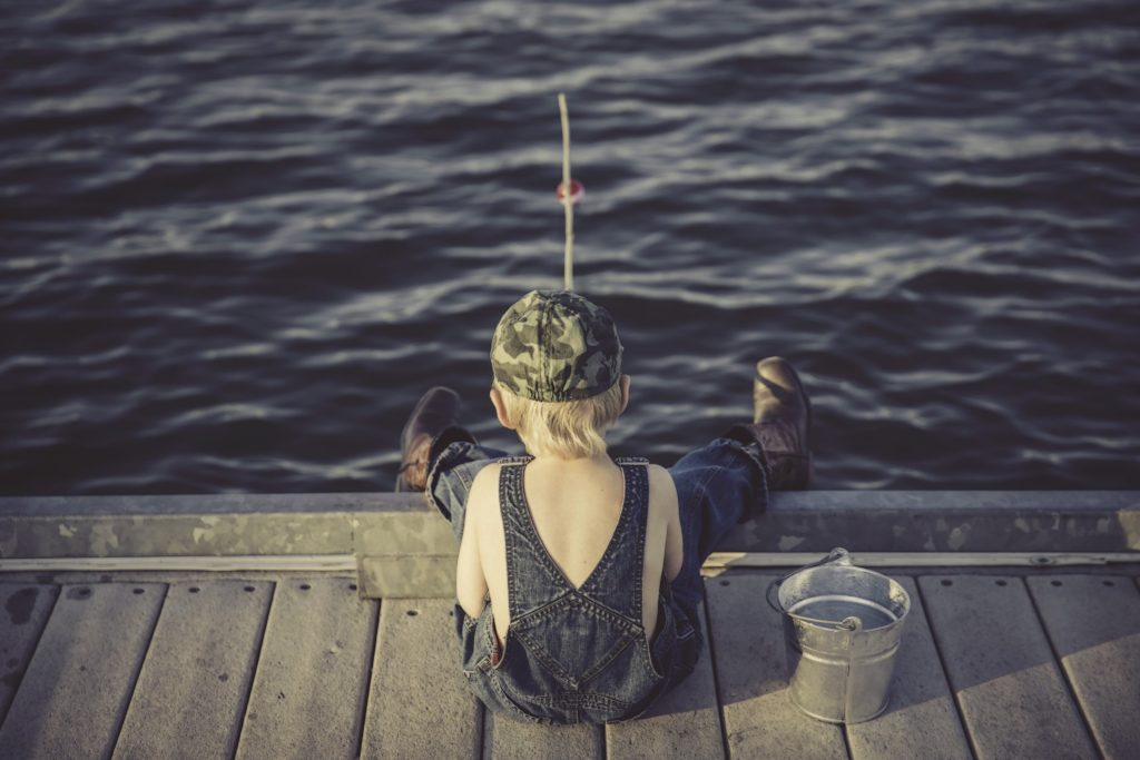 fishing for mental health
