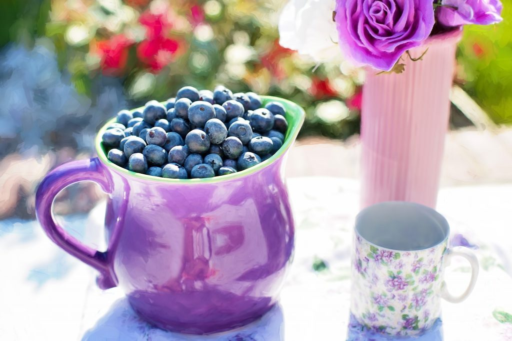 blueberries protect heart health